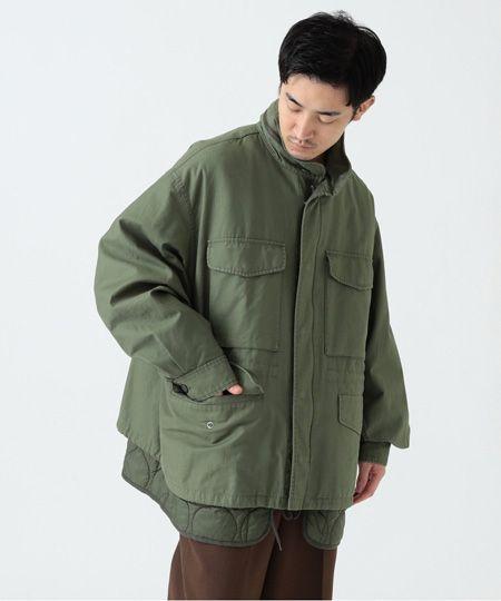『ビームス』中綿 キルティング M65 ジャケット