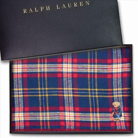『ラルフローレン』ポロベア ブランケット