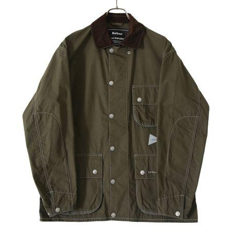 『アンドワンダー』別注 コーデュラ シャツジャケット