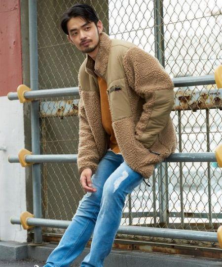防寒性もトレンド感も◎。ボアジャケットを使わないなんて損!