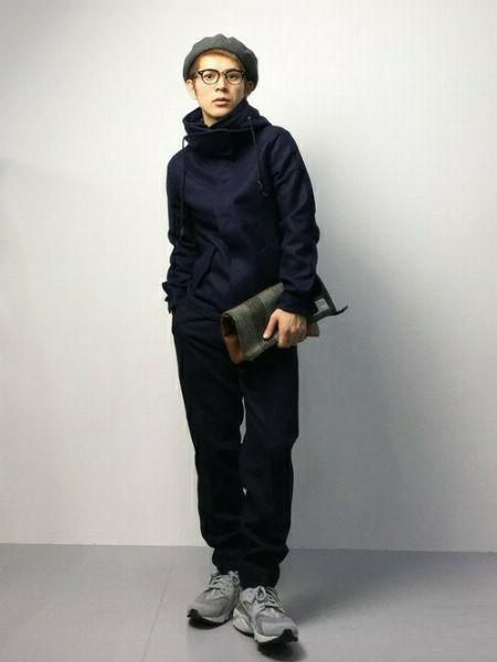 『アンリラクシング』のUR-18 メルトンショートモッズコート/税込27,000円 2枚目の画像