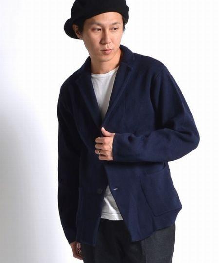 『シップス ジェット ブルー』のミラノリブ ジャケット/税込15,120円