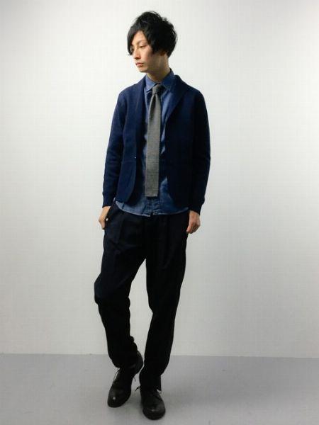『シップス ジェット ブルー』のミラノリブ ジャケット/税込15,120円 2枚目の画像