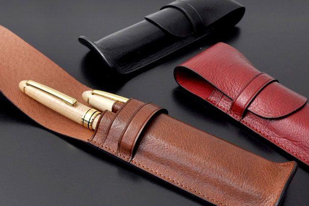 大人には革製のペンケースがよく似合う。長く愛用できるおすすめ11選