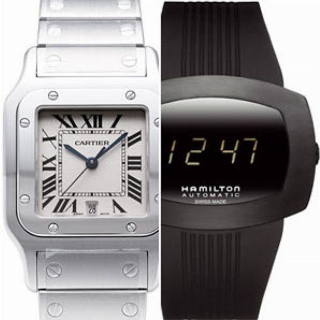 実は知らない。アナログ腕時計とデジタル腕時計の違い