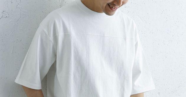 必見。白Tシャツの着こなしをおしゃれに見せる方法