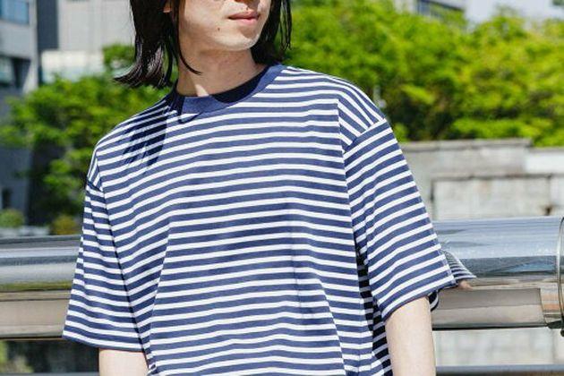 ボーダーTシャツのコーデ術。好印象な着こなしのコツ