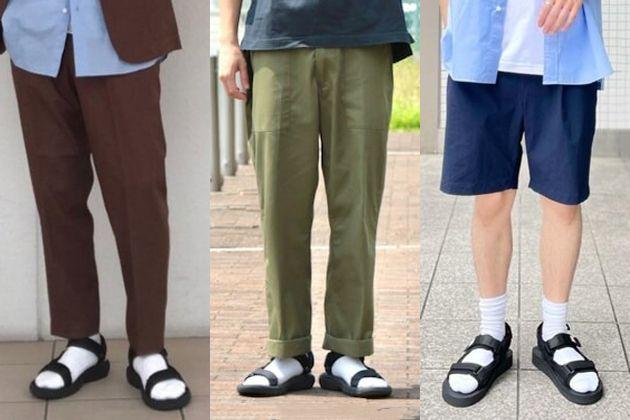 初心者歓迎。スポーツサンダル×靴下コーデのヒント