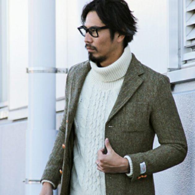 秋のジャケット講座。オンとオフの着分け方を解説