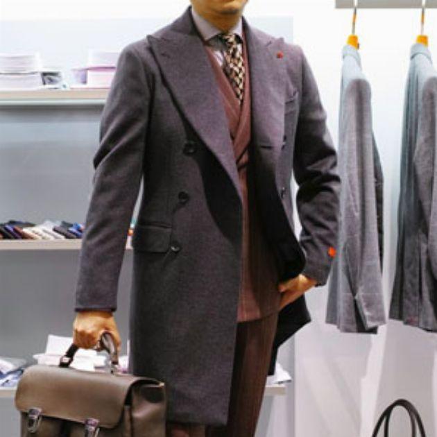ビジネスマン必見。スーツに似合うコートと着こなし方