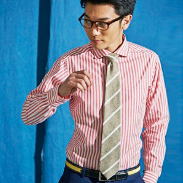 毎日こだわりたい!シャツとネクタイのおしゃれ関係