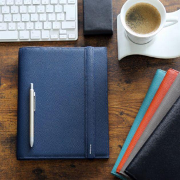 使い込むほど自分色に。革製手帳カバー&システム手帳