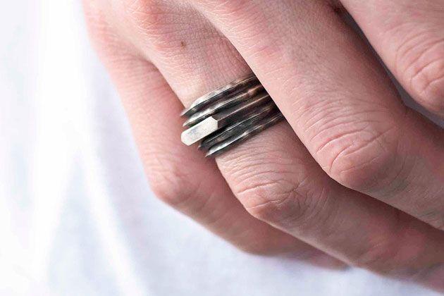 好印象でモテ要素の高い指輪って、こういうデザイン!