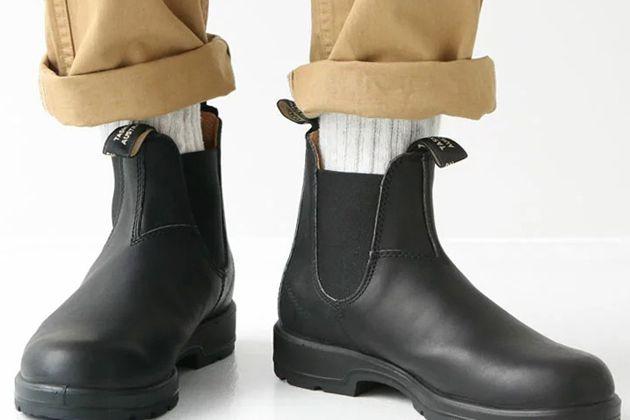 大人の雨靴。ブランドストーンのブーツが気になる