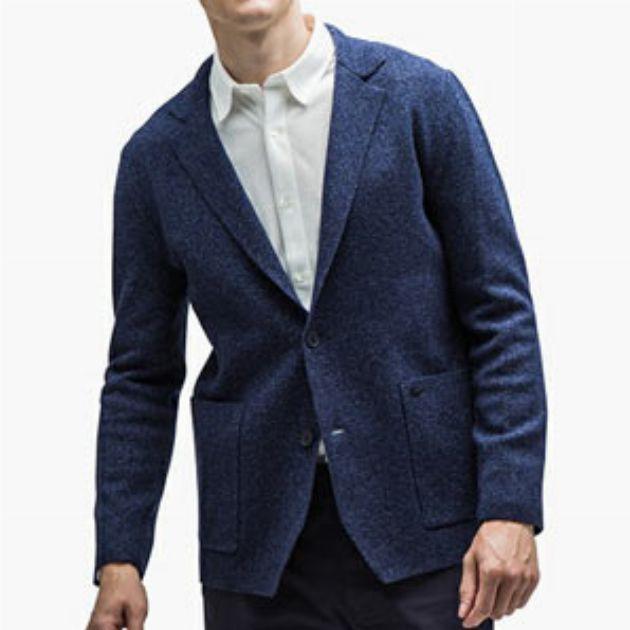 素材違いのジャケット。見え方やシーンは何が違うの?