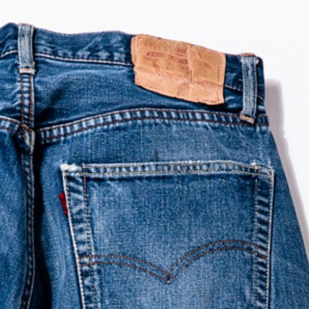 リーバイスのジーンズ、品番別シルエットまとめ