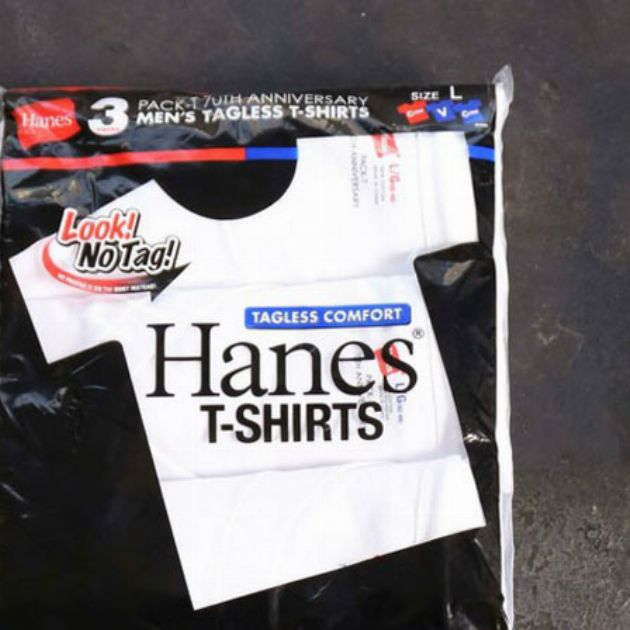 祝70周年。パックTシャツはヘインズがお買い得