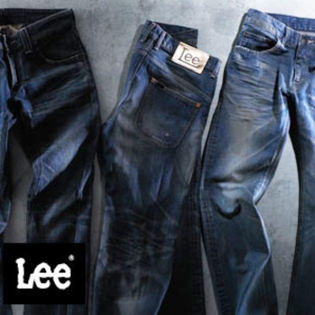 リーのジーンズ、品番別シルエットまとめ