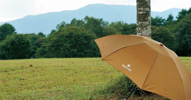 盲点でした。折りたたみ傘もアウトドアブランドが最強
