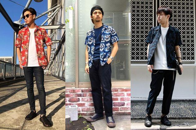 街で浮かない。アロハシャツをタウンユースに着る方法