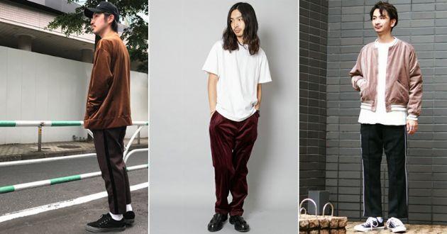 品が良くって大人顔。今季はベロア素材のファッションアイテムが新鮮
