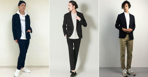 モダンでスタイリッシュ。黒のジャケットで作るワンランク上の着こなし