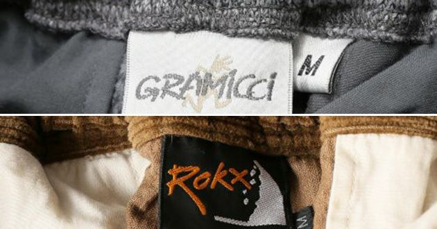 """グラミチとロックス。2大注目ブランドの冬素材クライミングパンツが""""アツい"""""""