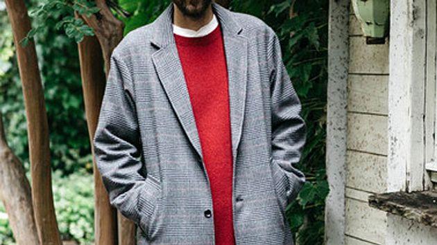 その渋さに頼らせて。グレンチェックのチェスターコートを着こなす方法