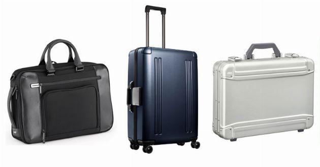 ゼロハリバートンのスーツケースとビジネスバッグ。大人のための厳選10品