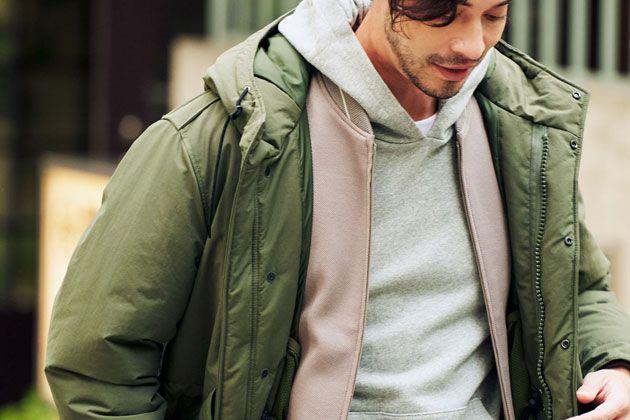男の定番、ミリタリージャケット。コーデを今っぽく見せる6つの法則