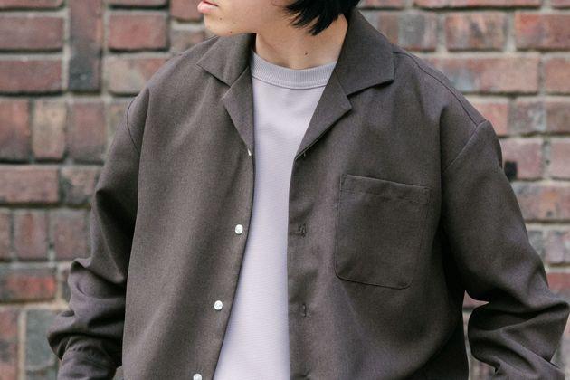 開襟・オープンカラーシャツ
