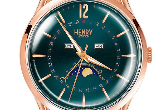 ヘンリーロンドンで装うエレガンス。英国時計の新鋭、その実力を知っておく