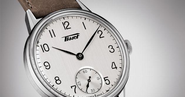 古き良き時代に想いを馳せて。40年代の薫り漂う機械式時計