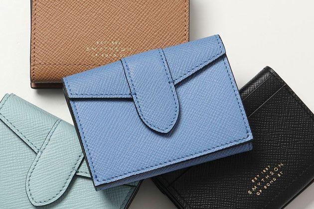 財布を中心に厳選10点。スマイソンの人気コレクション