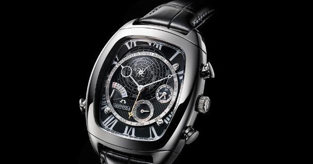 """過去と未来が1本の腕時計に。""""時""""に想いを巡らすロマンチックなリストウォッチ"""