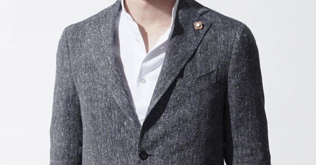 上質を知る大人の服。ラルディーニを着て襟を正す