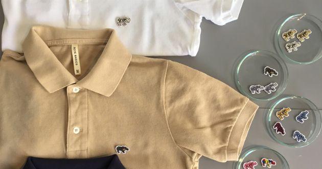 ポロシャツとキャップ。サイベーシックスのカスタムオーダーは、やっぱりセンスがいい