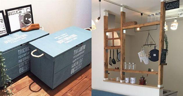 収納DIYのアイデア集。手軽に挑戦できる5つのテクニック