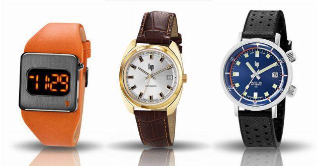 偉人たちも魅了。リップの腕時計はいつの時代も新鮮だ