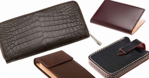 確かな技術が宿る、革小物。キプリスの財布と名刺入れが欲しいのだ