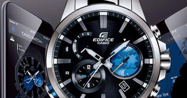 世界が認めたハイテク時計。エディフィスでビジネスシーンをもっと楽しく