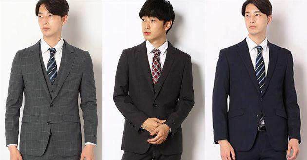 スーツセレクトならデザインも価格も大満足。スーツから小物までおすすめを厳選!