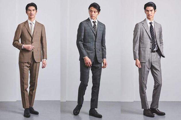 チェック柄スーツがビズコーデの格上げに効く。マスターすべき選び方とコーデ術