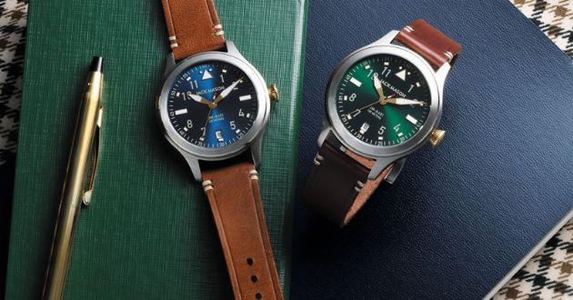"""腕元から""""色男""""に。ジャックメイソンの時計に冬スタイルのヒントを見る"""