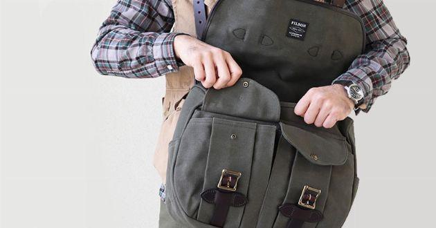 これぞ男の持ち物。フィルソンのバッグを代表的な素材別に厳選
