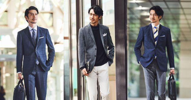 多様化するビジネスコーデに困ったら。1着で3度おいしいこんなスーツを