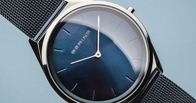 すべて計算ずく。驚くほど薄いが、ただ薄いだけではないミニマルな腕時計