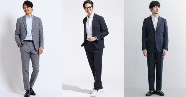クールビズ用のスーツは機能素材で快適に。汗ばむ季節を乗り切るおすすめ8選