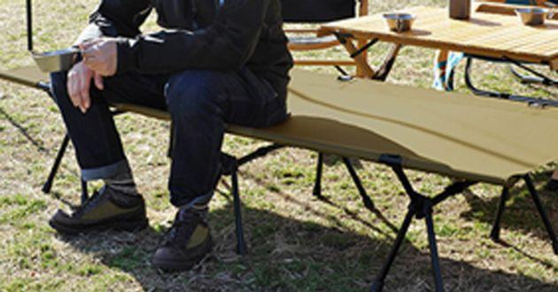 キャンプで睡眠の質を上げる、コットの正しい選び方と使い方