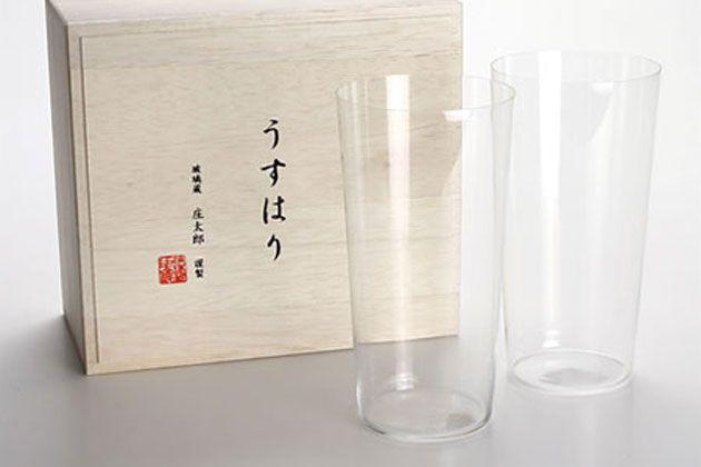 うすはりグラスならお酒が一層おいしく。家飲みのお供にしたい逸品7選
